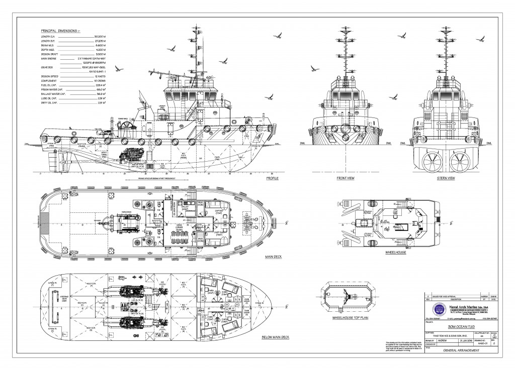 NA60-G1~GENERAL ARRANGEMENT-R0